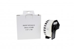 Compatible BROTHER DK22210 Labels