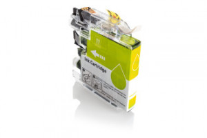 Compatible Yellow Brother LC223Y  550 Page Yield