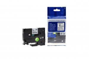 Compatible BROTHER TZE211 Labels